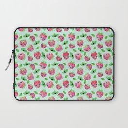 Strawberry skulls Laptop Sleeve