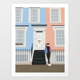 Portobello Road - Nothing Hill - London Art Print