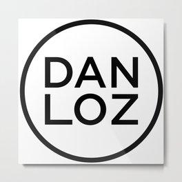 DAN LOZ Metal Print