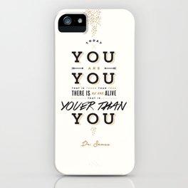 Dr. Seuss iPhone Case