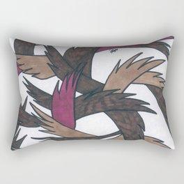 Feather Neutrals Rectangular Pillow