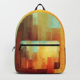 Urban sunset Backpack