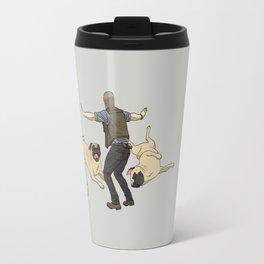 Jurassic Pugs Travel Mug