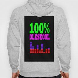 100% oldskool Hoody