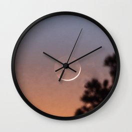 La Lune | Nature and Landscape Photography Wall Clock