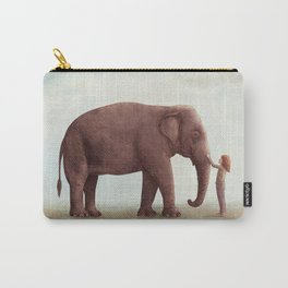 One Amazing Elephant Carry-All Pouch