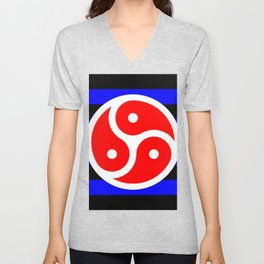 BDSM Flag Unisex V-Neck
