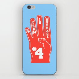 Foam Finger iPhone Skin