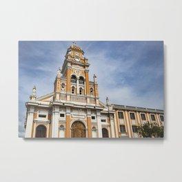 Iglesia Xalteva Catholic Church in Granada, Nicaragua Metal Print