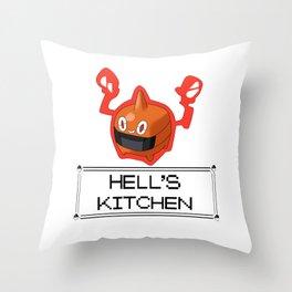 Rotom hell Throw Pillow