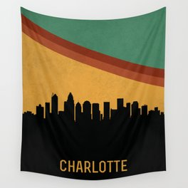 Charlotte Skyline Wall Tapestry