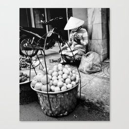 Saigon Streets Canvas Print