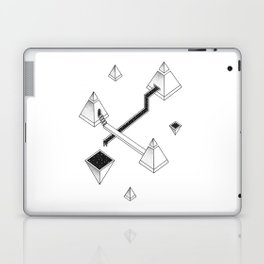 Space Pyramids Laptop & iPad Skin