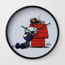 Kakashi Sleepy Wall Clock