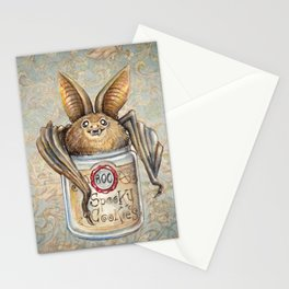 Bat Cookies Stationery Cards