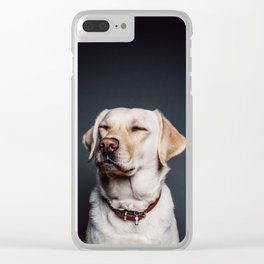 Golden Retriever Mugs for the Camera Clear iPhone Case