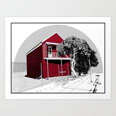 Newcastle I Art Print