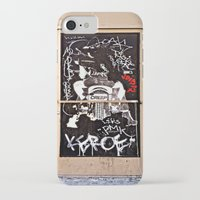 grafitti iPhone & iPod Cases featuring Grafitti Door - Creep by Barbara Gordon Photography