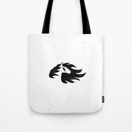 Lightning Bolt Horse Tote Bag