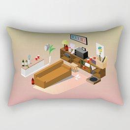 BTS - Isometric Run MV Rectangular Pillow