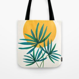Little Palm + Sunshine Tote Bag