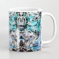 metallic Mugs featuring Metallic by Lara Gurney