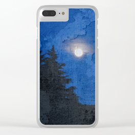 Fullmoon Clear iPhone Case