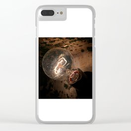 The lightbulb Clear iPhone Case