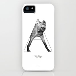 A - maned wolf iPhone Case