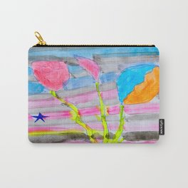 Yolo Love   Flower by Elisavet   #society6 Carry-All Pouch