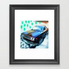 Hotrod Framed Art Print