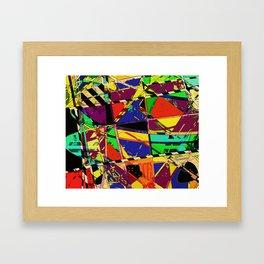 Choppy Framed Art Print