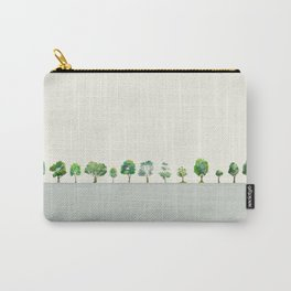 A Row Of Trees Carry-All Pouch