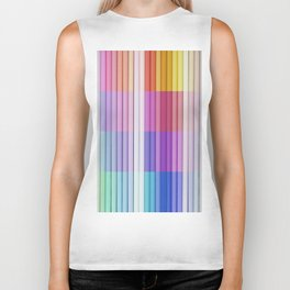 color bar Biker Tank