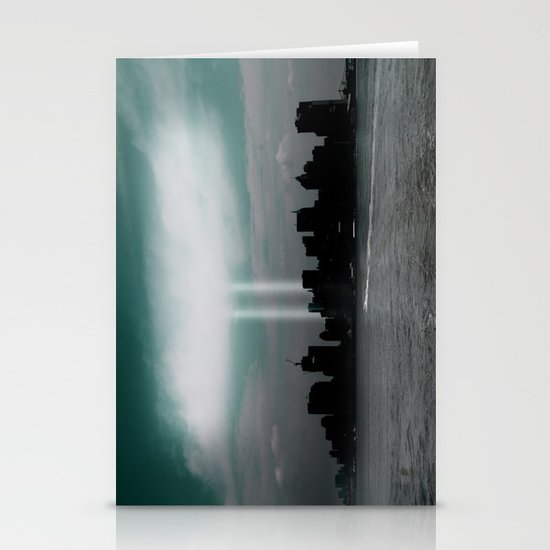Renewal - New York City skyline Stationery Cards