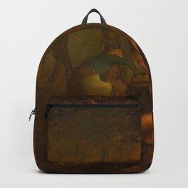 Jean-François Millet - Apple Gatherers Backpack