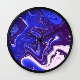 Liquid Neon Wall Clock