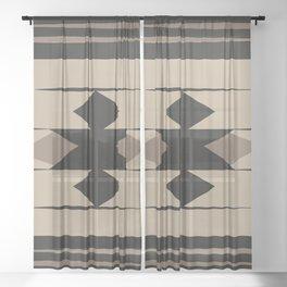 Kilim Sheer Curtain