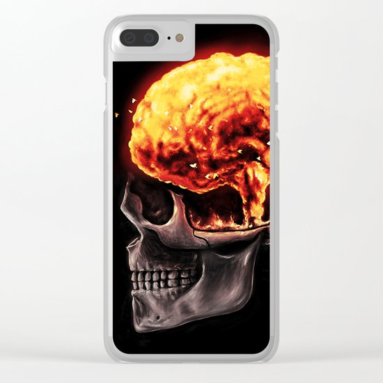 Mind Blown Clear iPhone Case
