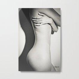 5789 Natasha Au Naturel - Boudoir Eros Studio Beauty Nude Metal Print