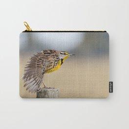 Eastern Meadowlark bird Carry-All Pouch