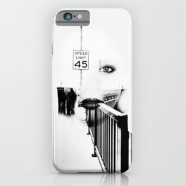 Speed Limit 45 iPhone Case