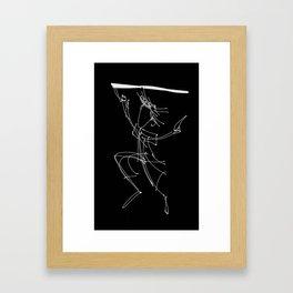 Break the Dark Framed Art Print