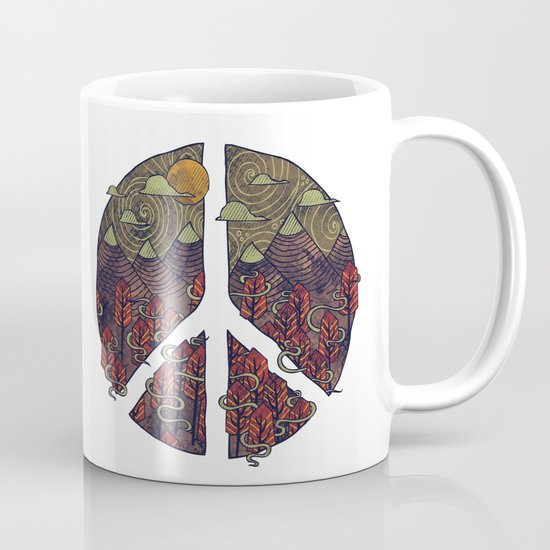 Peaceful Landscape Mug