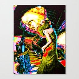 Horror Story Canvas Print