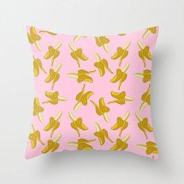 Goin' Bananas Throw Pillow
