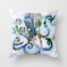 For the love of Octopus Throw Pillow
