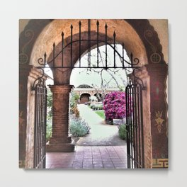 Through the Iron Gate Metal Print