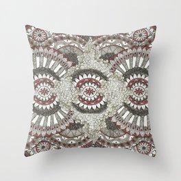 Mandala-la-la Collab Throw Pillow