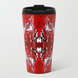 Oregon fall geometry Travel Mug